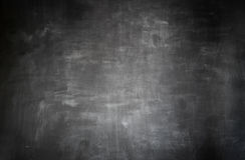 Tableau noir vide Images libres de droits