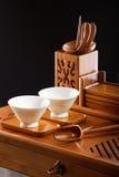Tableau pour la cérémonie de thé Photo libre de droits