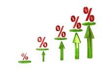 Tableau procent Images stock