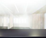 Tableau supérieur de fond dans le bureau Photo libre de droits