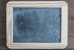 Tableau sur le fond en bois rustique Images stock