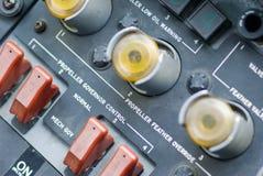 Tableaux de bord dans C-130 Photo libre de droits
