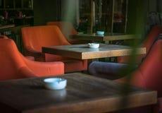Tableaux isolés du ` s de café images stock