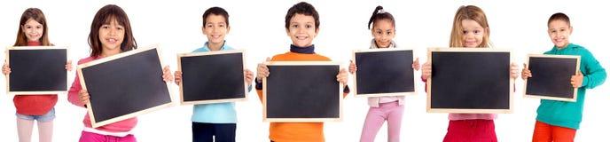 Tableaux noirs photo libre de droits
