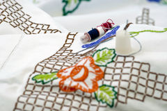 Tablecloth. Obrazy Stock