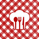 Tablecloth. Vector illustration of tablecloth icon Stock Photography