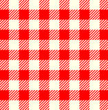 Tablecloth. Seamless red white tablecloth pattern Royalty Free Stock Image