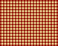 Tablecloth Background red and yellow. Tablecloth background checkered with red and yellow Royalty Free Stock Photography