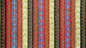 Tablecloth background with simple embroidery stitch. Handmade tablecloth background royalty free stock image