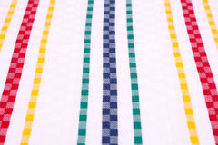 Tablecloth background Royalty Free Stock Photos