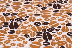 Tablecloth background Stock Image