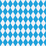 Tablecloth with Bavaria pattern Royalty Free Stock Photo