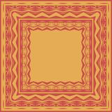 Tablecloth border pattern Stock Photography