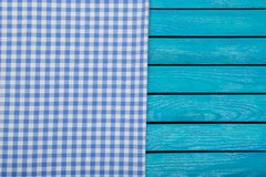 Tablecloth. Checked wood old website page cafe royalty free stock photo