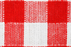 Tablecloth Checkered imagem de stock royalty free