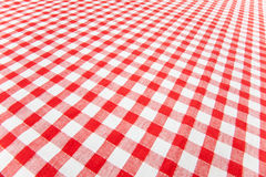 Tablecloth Checkered Fotos de Stock Royalty Free