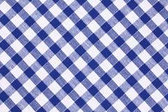Tablecloth Checkered fotografia de stock royalty free