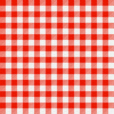 Tablecloth Checkered Imagem de Stock