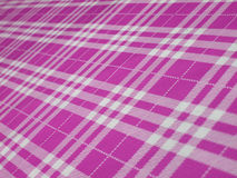 Tablecloth, checkered in  folk style Royalty Free Stock Photography