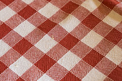 Tablecloth. A detail of a tablecloth Royalty Free Stock Photography