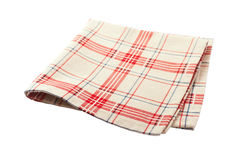 Tablecloth dishes Royalty Free Stock Photography