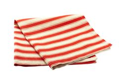 Tablecloth dishes Royalty Free Stock Image