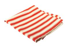 Tablecloth dishes Stock Photos