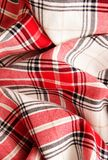 Tablecloth fabric . selective focus Stock Image