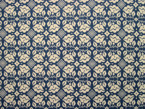 Tablecloth of floral pattern Royalty Free Stock Image