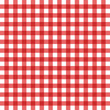 Tablecloth illustration. An old tablecloth red and white Stock Photos