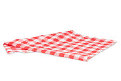 Tablecloth isolated on white Stock Image