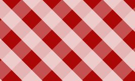 Tablecloth for plaid,background,tablecloths for textile articles. Red and white cell,vector illustration.EPS-10 stock illustration
