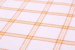 Tablecloth tło Zdjęcie Stock