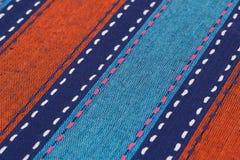Tablecloth tło Fotografia Stock