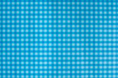 Tablecloth texture. Detail of blue tablecloth texture Stock Photography