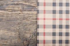 Tablecloth tkaniny tekstura Obraz Stock