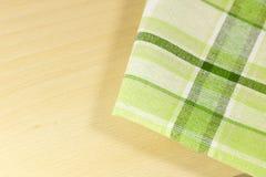Tablecloth w kuchni Obrazy Stock