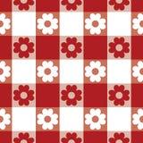 Tablecloth wzór Obraz Royalty Free