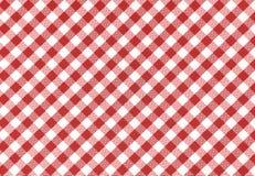 Tableclothbakgrund, textur Royaltyfri Fotografi