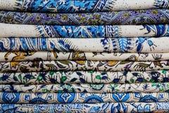 tablecloths Arkivbilder