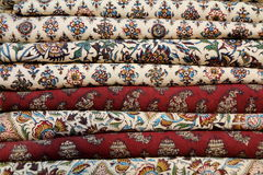 tablecloths Royaltyfri Foto