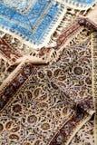 tablecloths Arkivfoton
