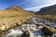Tablelands Winter House Brook Stock Photography
