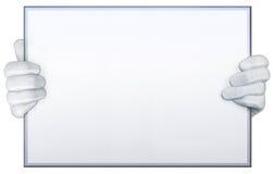 Tablero blanco Imagen de archivo libre de regalías