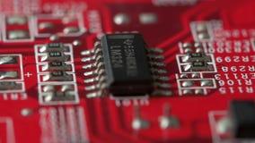 Tablero con los microprocesadores almacen de video