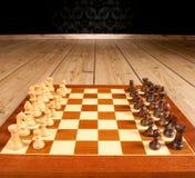 Tablero de ajedrez Imagen de archivo