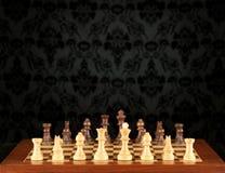 Tablero de ajedrez Foto de archivo libre de regalías