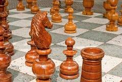 Tablero de ajedrez Imagen de archivo libre de regalías