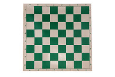 Tablero de ajedrez, con la notación algebraica fotografía de archivo libre de regalías