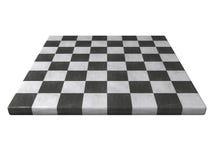 Tablero de ajedrez de mármol Foto de archivo libre de regalías